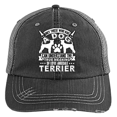 I Love Airedale Terrier Hat 531922a9b3d
