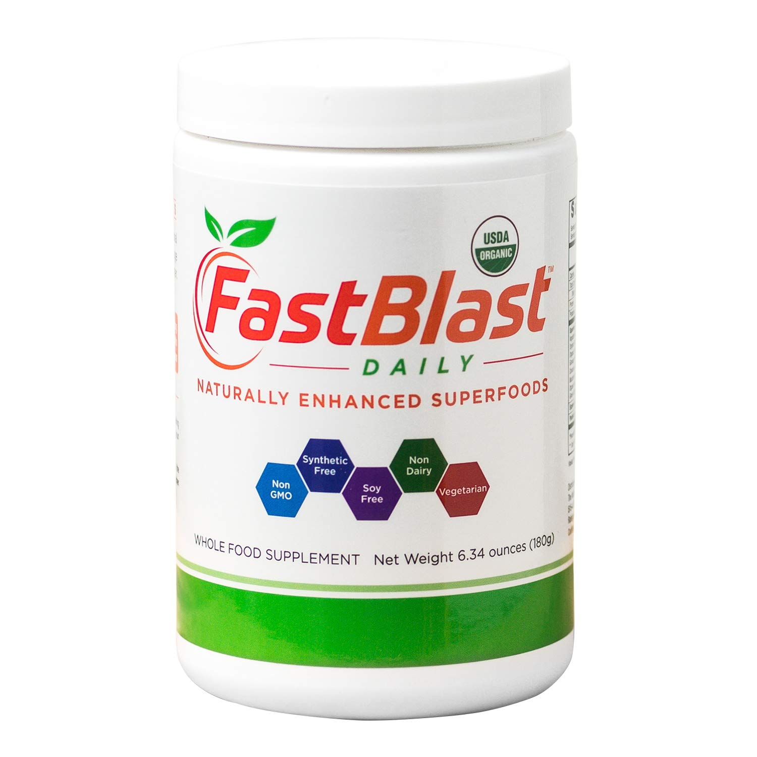 FastBlast Daily Essentials | Fermented Organic Superfood Powder for Health & Vitality | Supports Brain, Heart, Immune, Digestive Systems by FastBlast