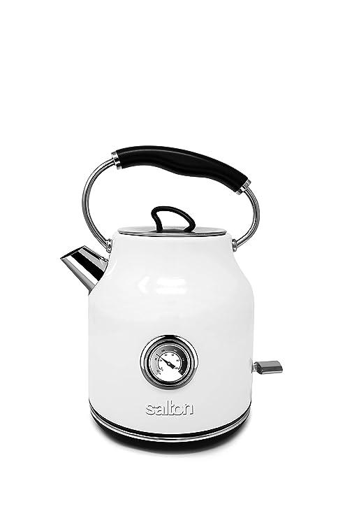 Amazon.com: Salton JK1804 - Tetera de acero inoxidable (1,7 ...