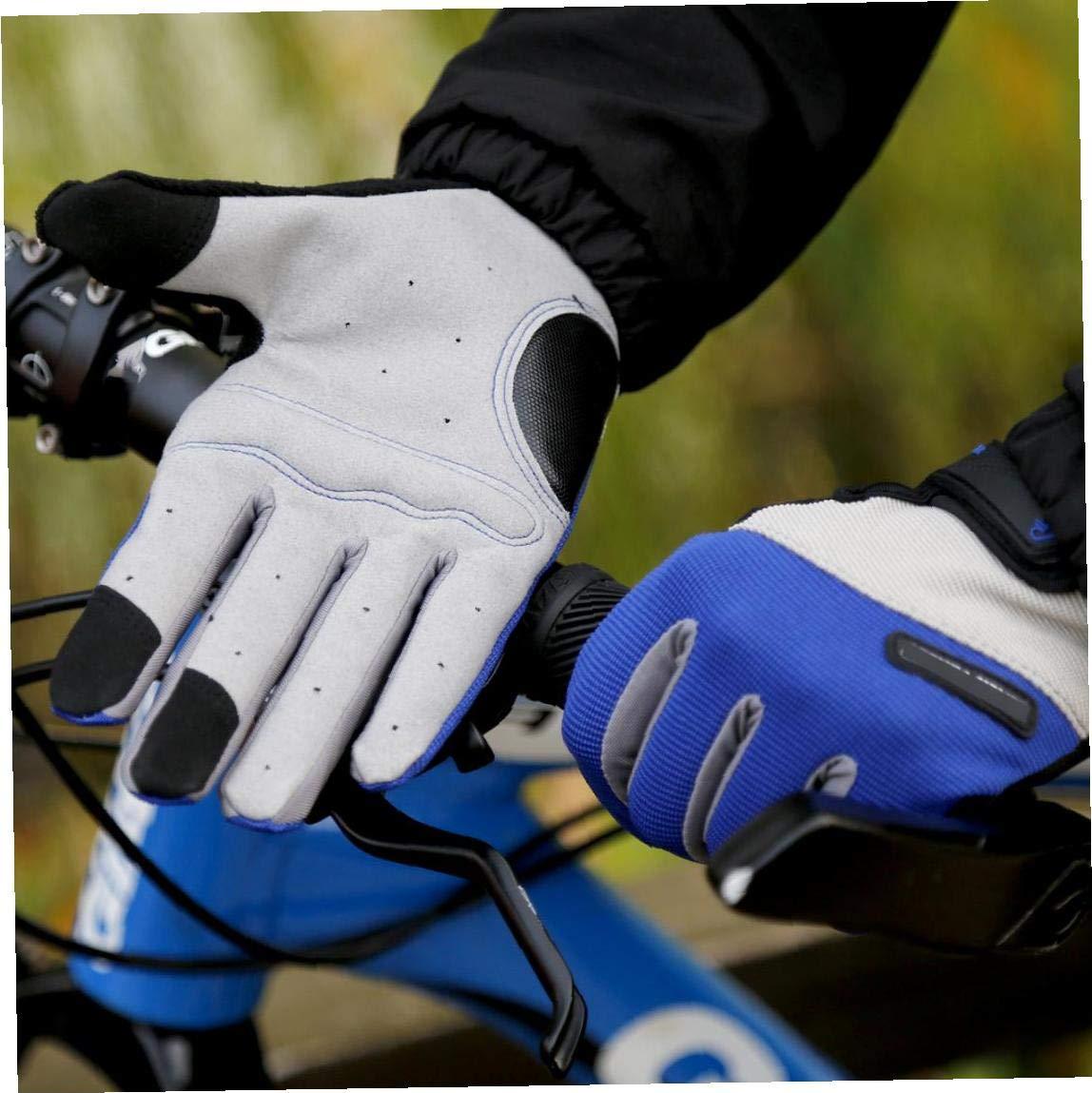 OMMO LEBEINDR Guantes Unisex Ciclismo Universal Bike Guantes Anti Guantes De Compresi/ón para Bicicletas En L 1 Par Bluecompression Transpirable Riding