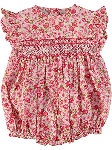 Carriage Boutique Baby Girl Bubble - Pink Floral