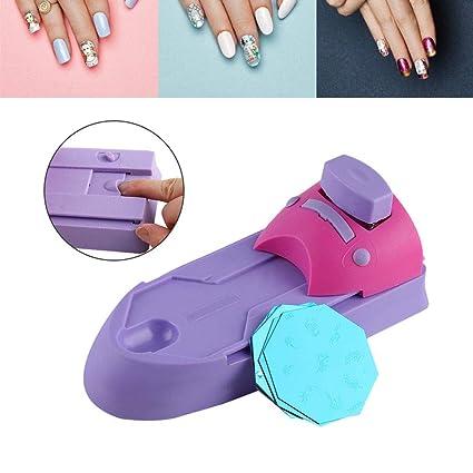 Pinkiou máquina de impresión de uñas nail art impresora manicura dibujo estampador de uñas diy herramienta