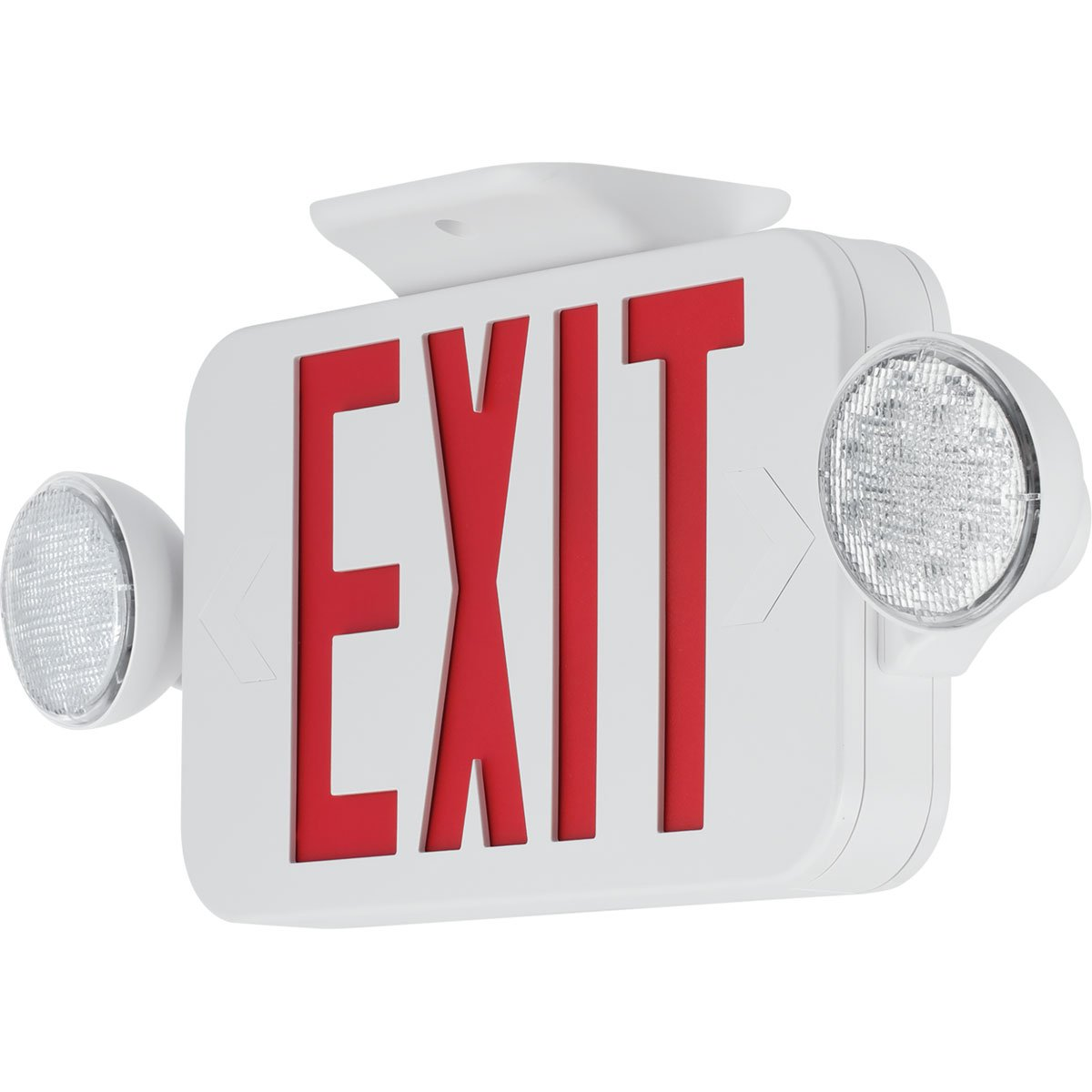 Progress Commercial PECUE-UR-30-RC LED Exit Sign Combo, White