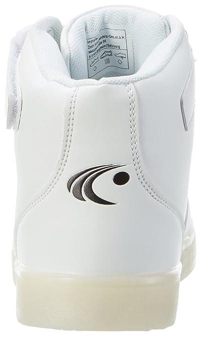 ConWay Unisex-Erwachsene 207462 Hohe Sneaker, Weiß (Weiß), 36 EU