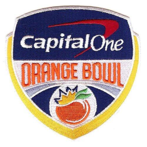 Capital One Orange Bowl Game Jersey Patch Miami vs. Wisconsin (2017)
