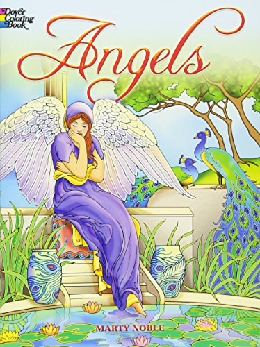 Angels Coloring Book (Dover Coloring Books) -