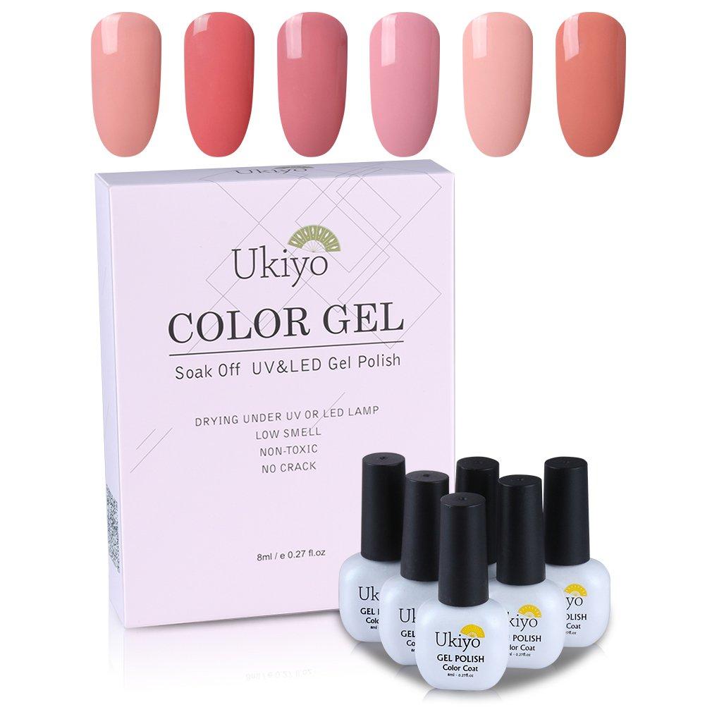 Amazon.com : Gel Nail Polish Set Acrylic Nail Kit Holographic Nail ...