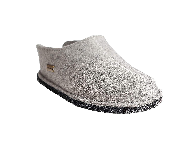 Haflinger Flair Smily, Pantofole Uomo Grigio (Steingrigiomeliert 84) | durabilità  | Uomo/Donne Scarpa