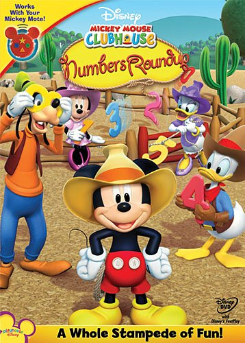 Mickey Mouse Clubhouse Mickeys Numbers