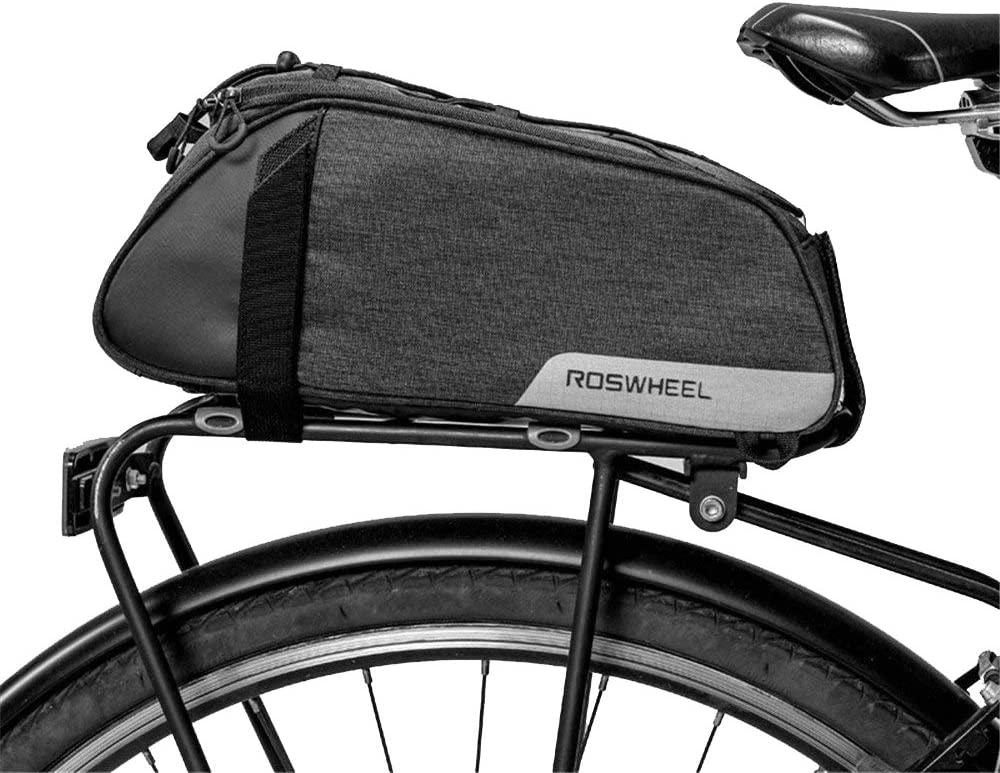 Fahrradzubeh/ör mit Reflektierenden Streifen Dauerhaft Fahrrad Untersitz Aufbewahrungstasche f/ür Reparaturwerkzeuge f/ür Minipumpen LuTuo Fahrradsatteltasche Kompakte wasserdichte Fahrradhecktasche