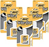 Bic White-Out Quick Dry Correction Fluid 5 pcs sku# 1849481MA