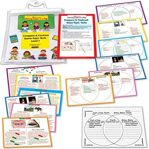 Compare & Contrast: Same-Topic Reading Game Grade 2-3