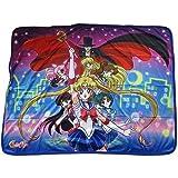 Great Eastern Entertainment Sailor Moon R - Sailor Moon Group Sublimation Throw Blanket