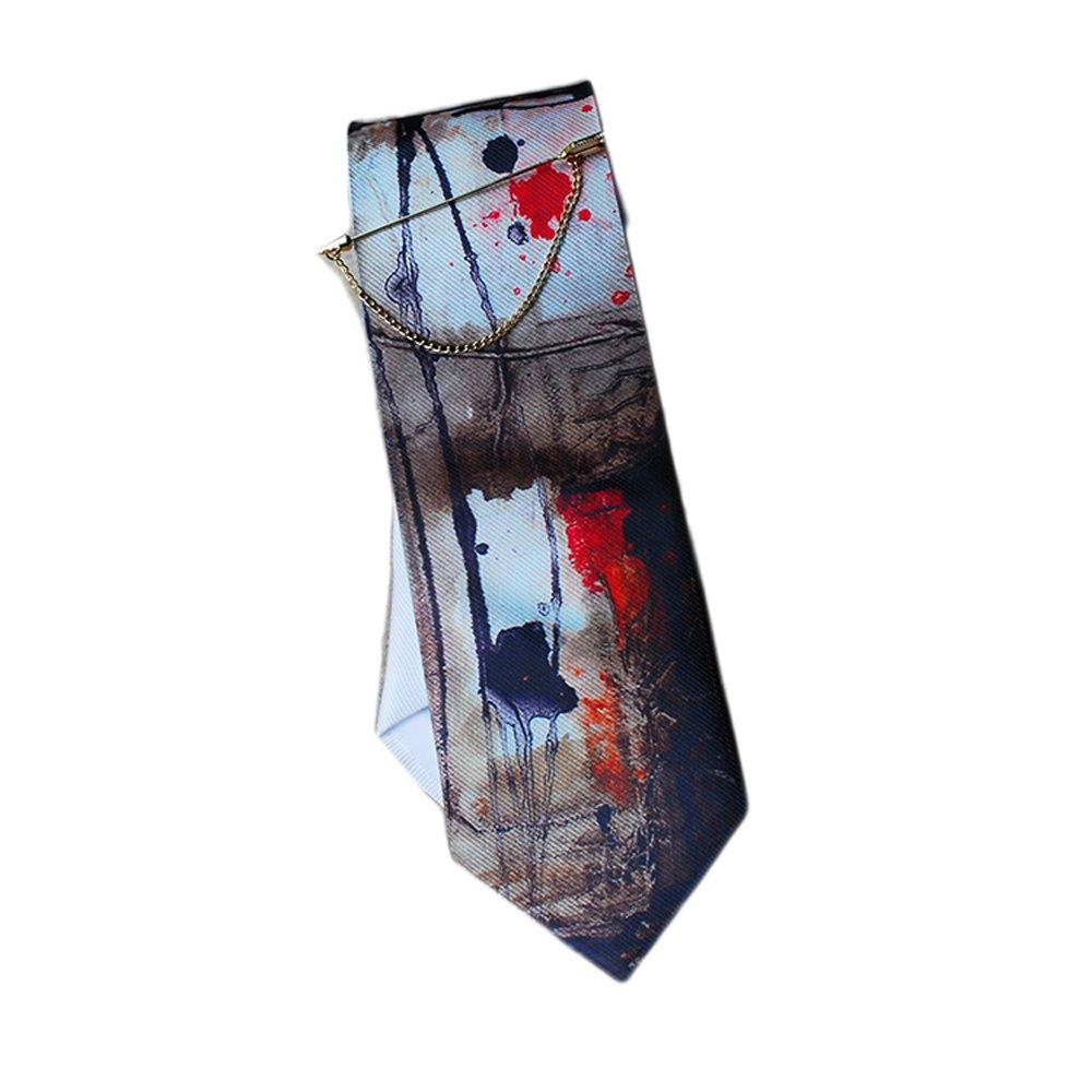 El Diseo De Casa Rojo Estampado Textil Corbata: Amazon.es: Ropa y ...