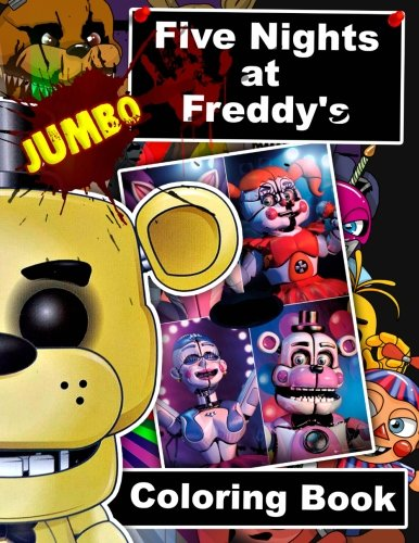 Pdf Crafts Five Nights at Freddy's JUMBO Coloring Book: 60 Illustrations for Kids and Adults