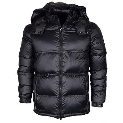 EA7 Emporio Armani Man Woven Down Jacket 6YPB25PNE2Z-1200 Herren Jacke (XL,  Black d48b04a16a