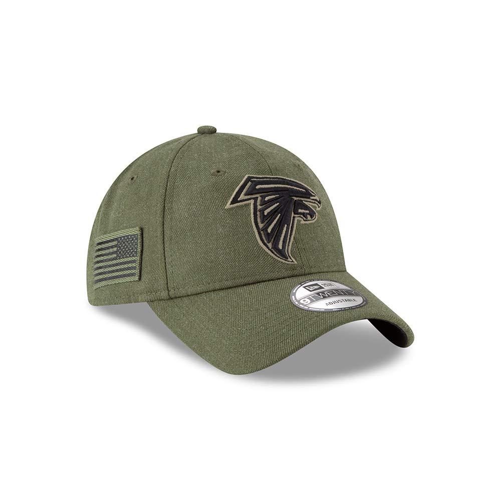 cbdd75d5 New Era Mens NFL 2018 Salute to Service 9Twenty Strapback Hat