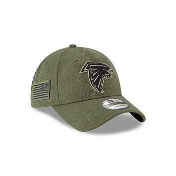 brand new 32a0e 118a4 New Era Mens NFL 2018 Salute to Service 9Twenty Strapback Hat