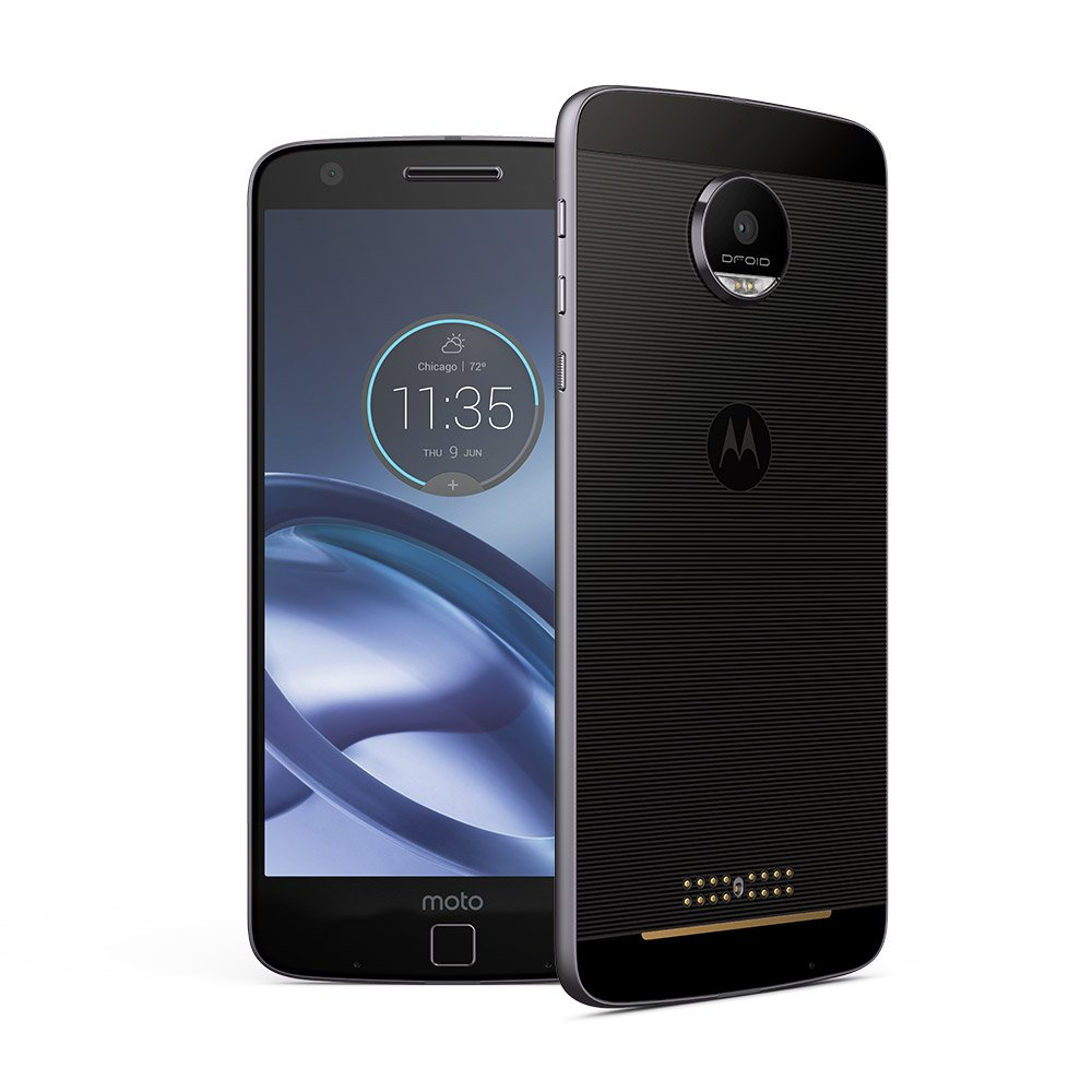Motorola Moto Z Droid XT1650-01 Lunar Grey 32GB - Verizon Wireless by Verizon (Image #1)