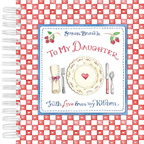 Recipe Keepsake Book - To My Daughter: With Love from My Kitchen (Red) (Branch Red)