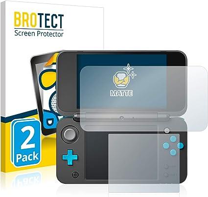 BROTECT Protector Pantalla Anti-Reflejos Compatible con New Nintendo 2DS XL (2 Unidades) Pelicula Mate Anti-Huellas: Amazon.es: Electrónica