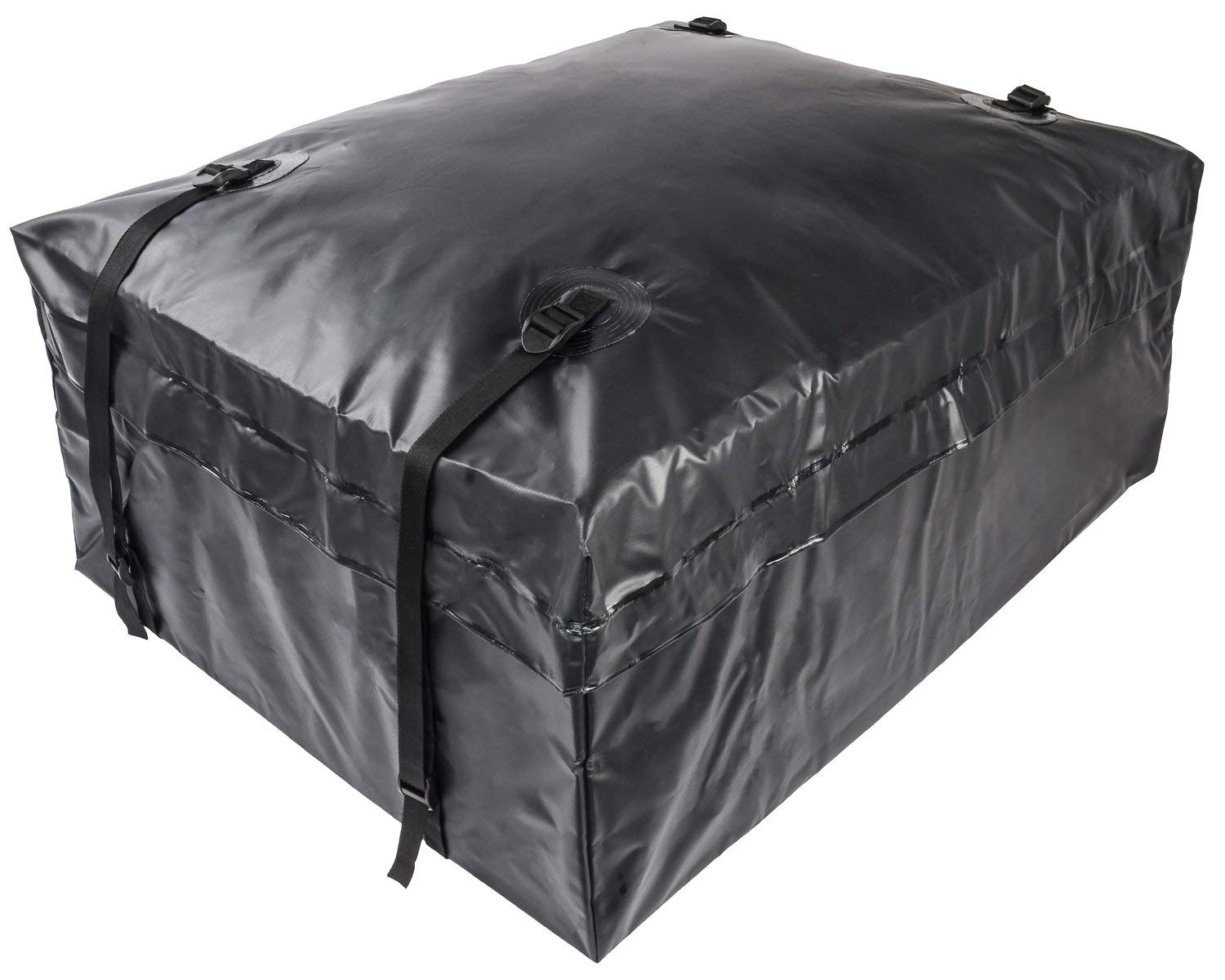 JEGS 90095 Weather Resistant Soft-Shell Carrier 37''x30''x15'' Rooftop Cargo Bag