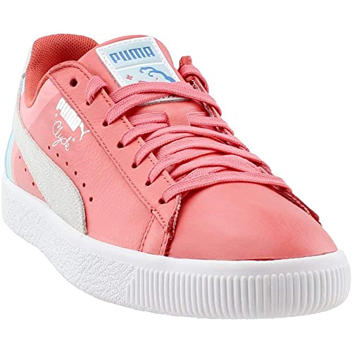 a0706d33c437 PUMA Men s Clyde - Pink Dolphin Porcelain Rose 12 D US  Amazon.co.uk  Shoes    Bags
