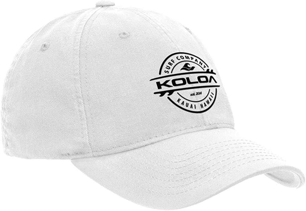 Koloa Surf Classic Cotton Dad Hats. Low Profile Adjustable Caps in 42 Colors