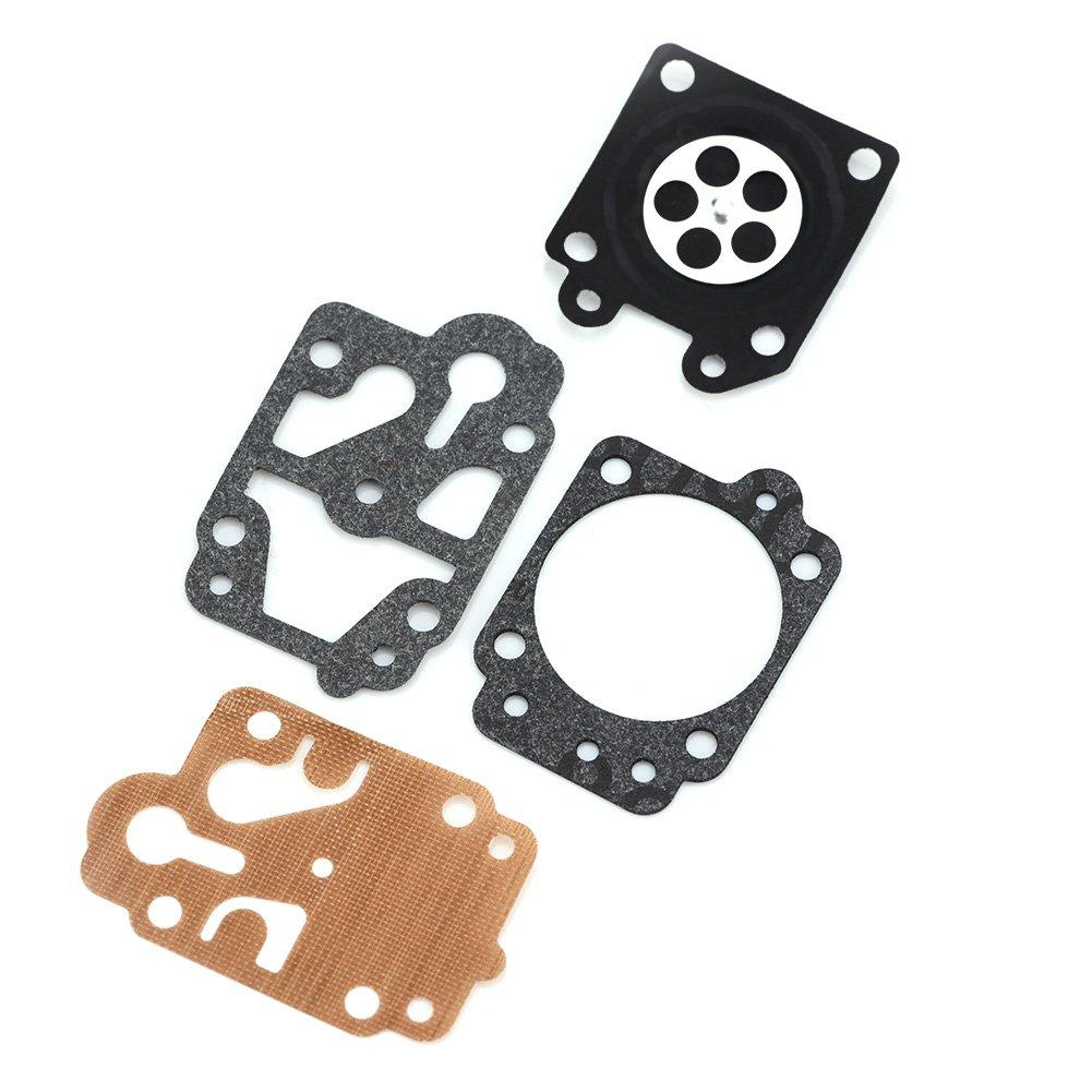 Zerodis Carburador Cortacésped Piezas De Repuesto Con Reparación Equipos Para CG430 CG520 BC430 bc520 Libre Schneider