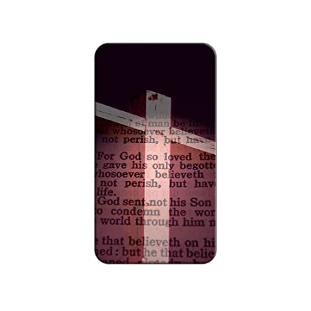 Cross And Bible Verse John 3 16 For God So Loved The World Metal Lapel