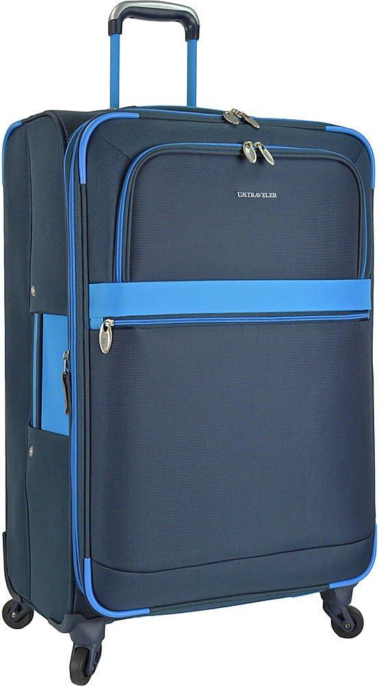 Royal Blue U.S Traveler Alamosa Expandable Spinner Luggage