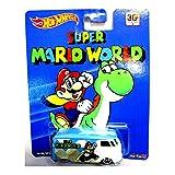 Volkwagen T1 Panel Bus Super Mario World Hot Wheels Vehicle