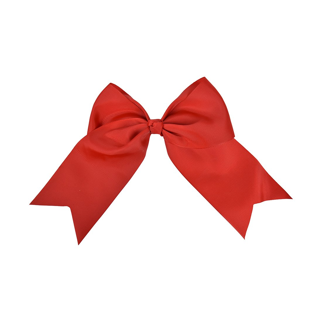Red Jumbo Bow Clip with Tails Motique Accessories MTBO0087RD