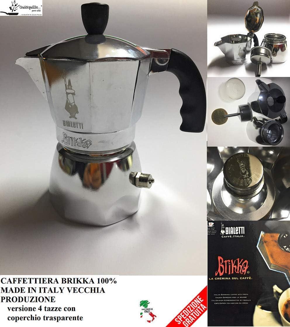 Bialetti Caffettiera Brikka 2 tazas antigua producción 100% Made ...