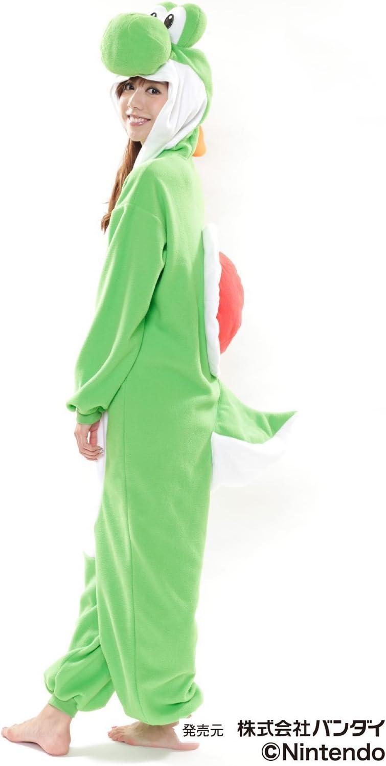Super Mario Bros Yoshi - Disfraz de Forro Polar para Mujer (Talla ...