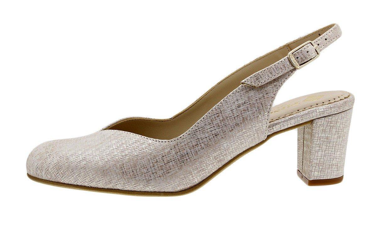 PieSanto Salón Grabado Nude 180229 Zapato Confort 44 EU|Grecia Nude