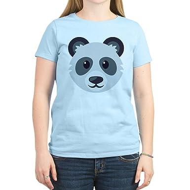 1e5c5e83e CafePress Panda Women's Light T Shirt Womens Cotton T-Shirt, Crew Neck,  Comfortable