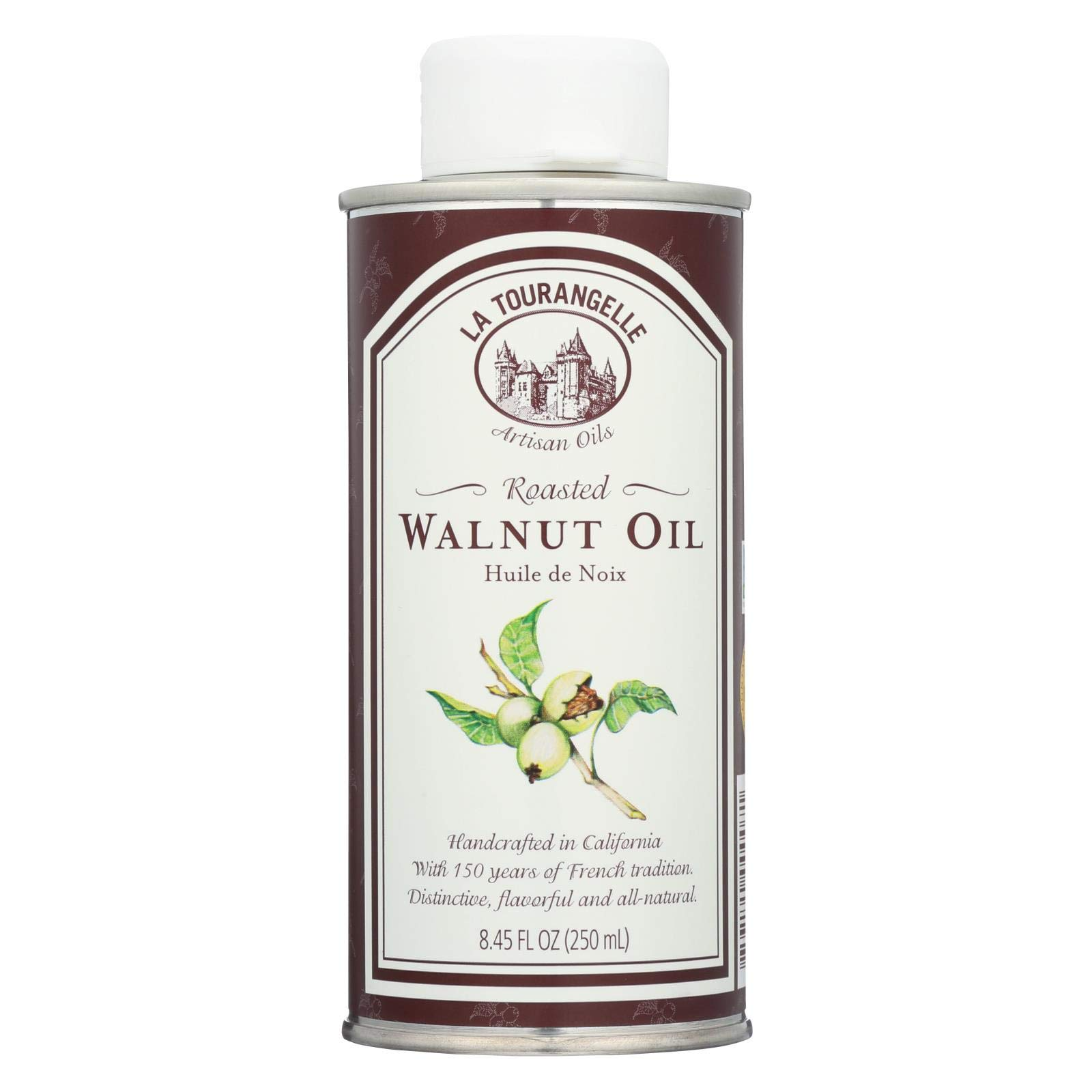 La Tourangelle Roasted Walnut Oil, 250 Milliliter - 6 per case. by La Tourangelle