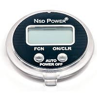 NSD Power SM-01 Velocímetro de precisión multifunción con visualización LCD para Uso con Modelos NSD Spinner