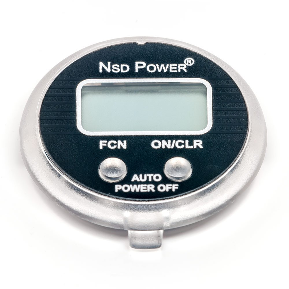 NSD Power SM-01 Precision Multi-Function Speedometer with LCD Screen for Use With NSD Spinner Models