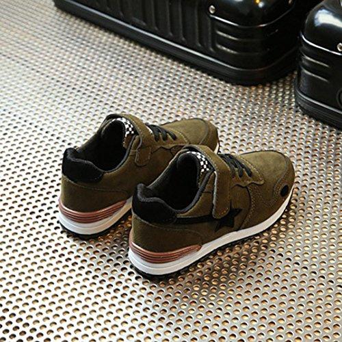 Kinder Schuhe Huhu833 Kleinkind Kinder Sport Laufschuhe Babyschuhe Jungen Mädchen Sterne Mesh Schuhe Turnschuhe Grün