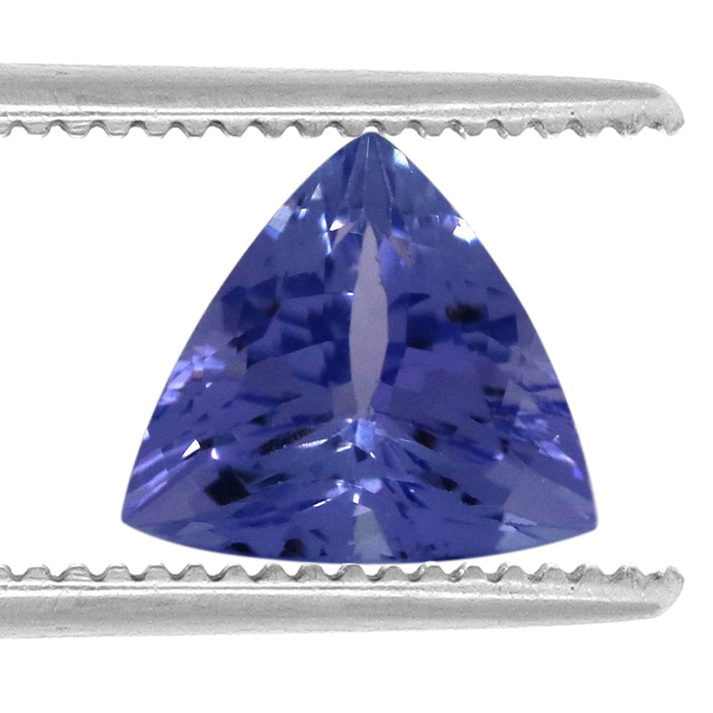 100%Natural 1.25 Carats TCW Trillion Tanzanite Fine Gem By DVG by DVG (Image #2)