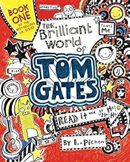 The Brilliant World of Tom Gates books like diary of a wimpy kid