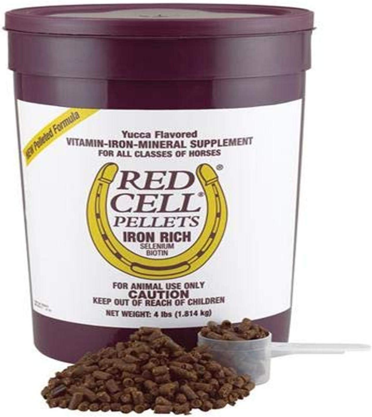 FARNAM 100506701 Red Cell Pellets Pet Supplement, 4-Pound