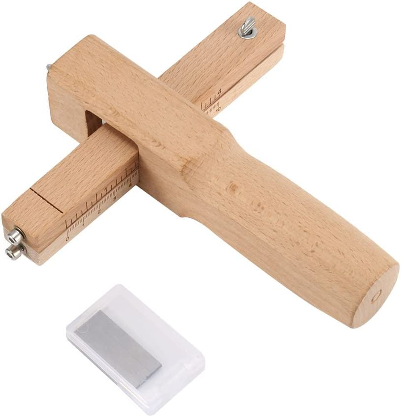 Professional Craftool Strip /& Strap Cutter with Blade Leather Hand Cutting Tool