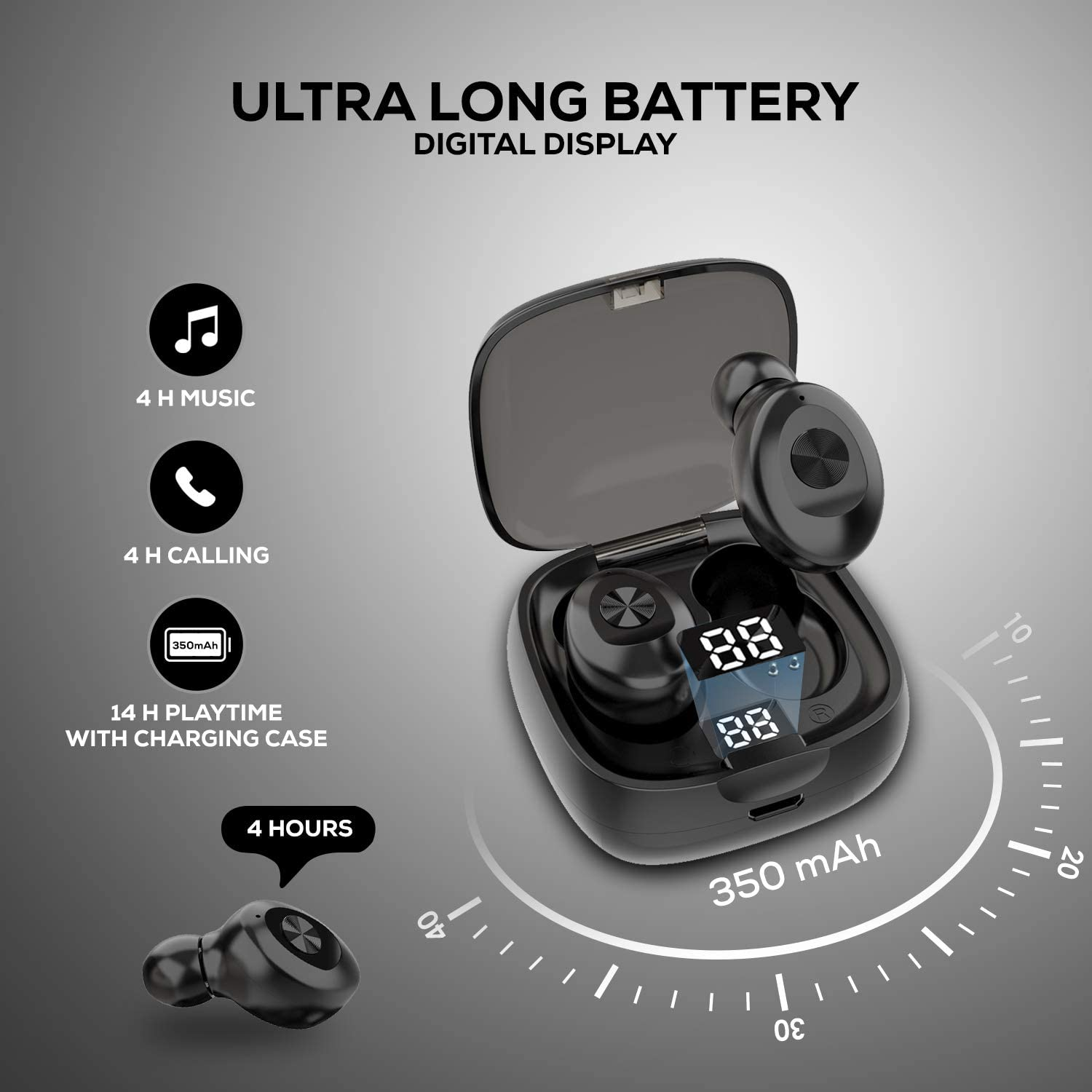 WeCool Moonwalk M1 V2 Wireless Earbuds