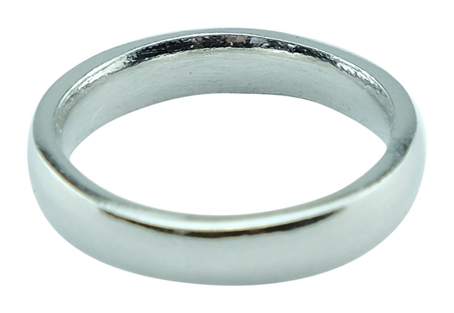 Womens Polished 10th Anniversary Ring Band - 100% Tin Content Gift Idea for 10 Years - Matching Him Band Available (8)
