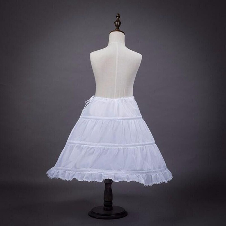 MisShow Girls Half Slips Puffy Petticoat Flower Girls Underskirt