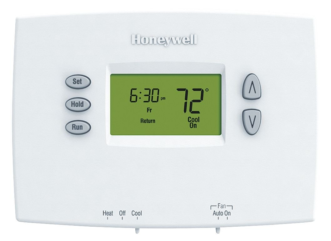 Honeywell TH2110DH1002 Thermostat, Horizontal PRO 2000 5+2 Day Programmable - Backlit, 1H/1C Dual Powered by Honeywell: Amazon.es: Bricolaje y herramientas
