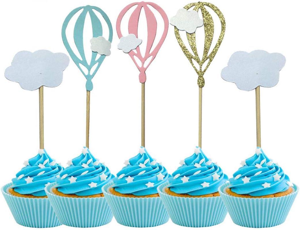 Hot Air Balloon Baby Shower Menu Ideas